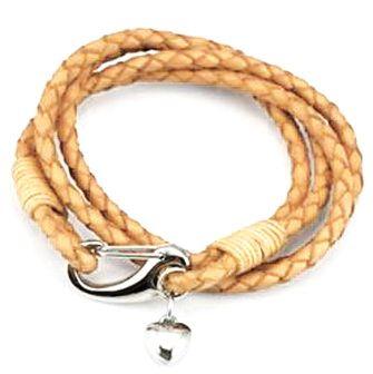 Кожаный браслет 442-1NT-Shir