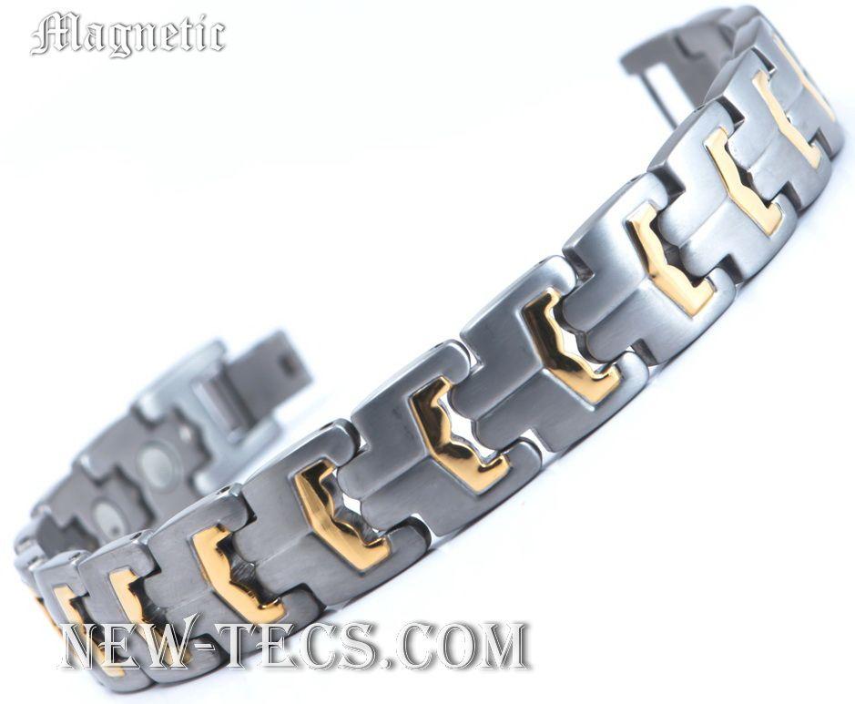 Магнитный браслет ST-007NT-Mj-steel