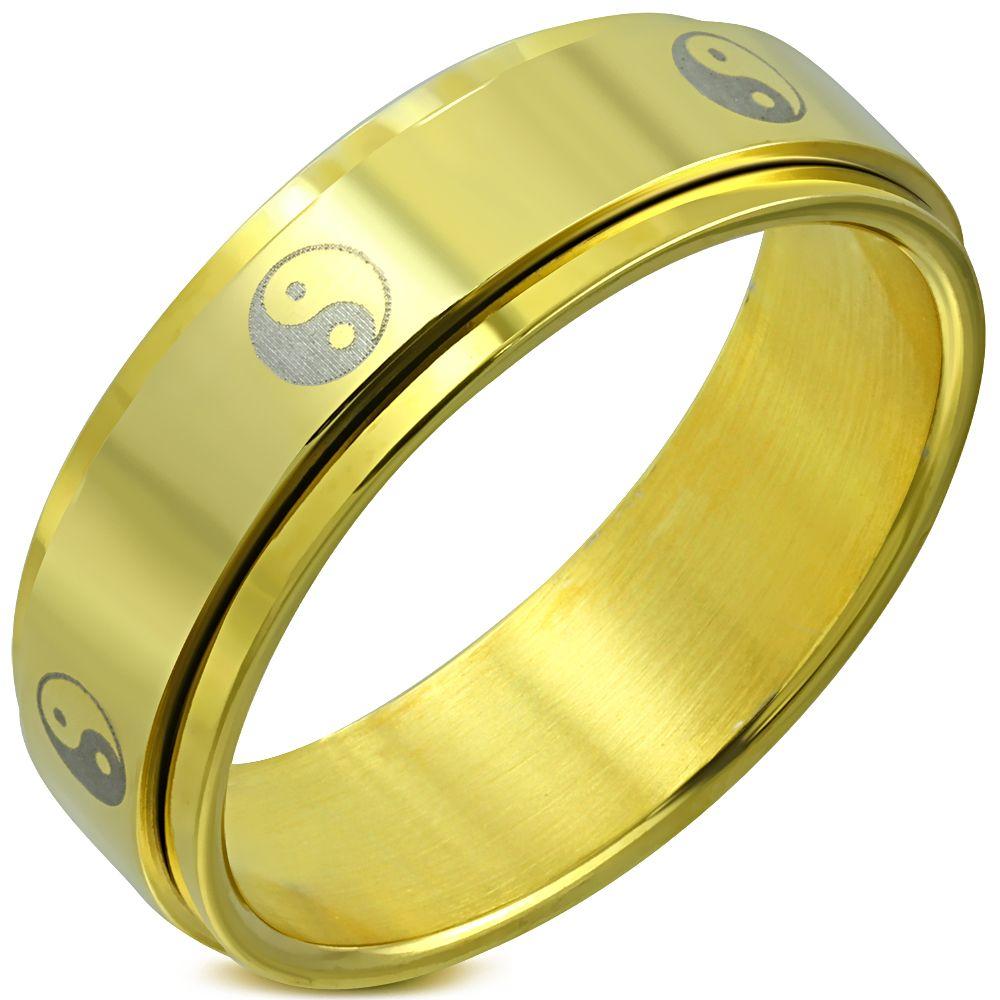 Кольцо Инь Ян
