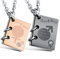 Кулон Girl and Boy
