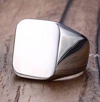 Перстень мужской стальной