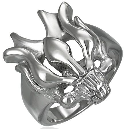 Перстень стальной RRMT03111