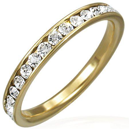 Кольцо с природными кристаллами
