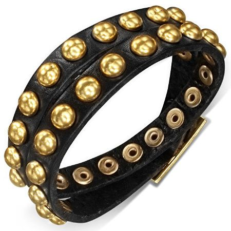 Кожаный браслет LBHY50711