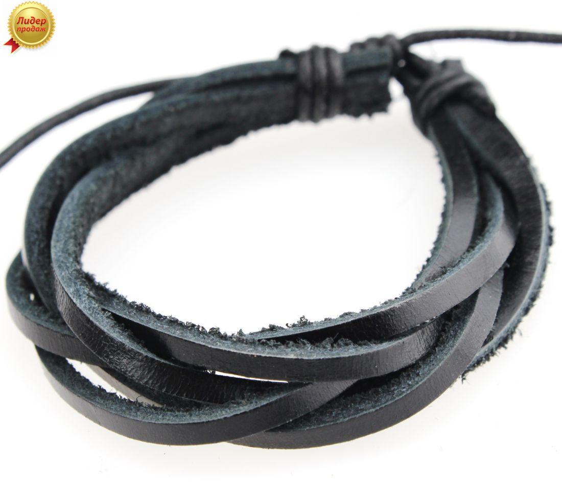 Кожаный браслет 64NT-Shir