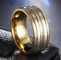 Кольцо с орнаментом Версаче