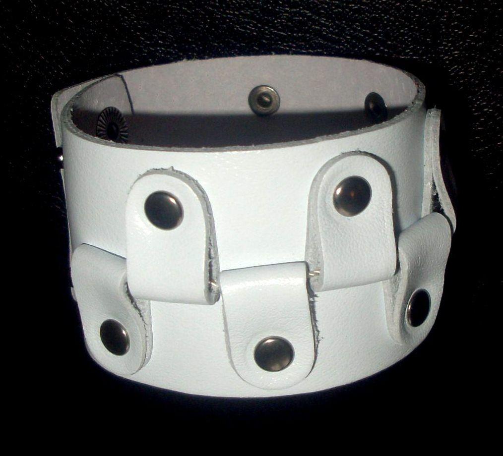 Кожаный браслет NewTec-20